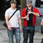 Kellan Lutz meets up with Peter Facinelli 47096
