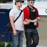 Kellan Lutz meets up with Peter Facinelli 47099