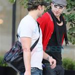 Kellan Lutz meets up with Peter Facinelli 47101