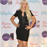 Christina Aguilera presents her new fragrance July 2011 91193