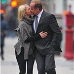 Kelsey Grammer PDA on the street with Kayte Walsh in New York 77342
