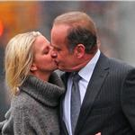 Kelsey Grammer PDA on the street with Kayte Walsh in New York 77343