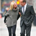 Kelsey Grammer PDA on the street with Kayte Walsh in New York 77344