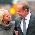 Kelsey Grammer PDA on the street with Kayte Walsh in New York 77345