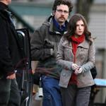 Joseph Gordon-Levitt is bald on set with Anna Kendrick in Vancouver  58216