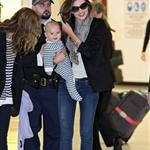 Miranda Kerr arrives in Sydney with baby Flynn  90763