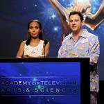 Jimmy Kimmel and Kerry Washington present the 64th Primetime Emmy Awards Nominations 121115