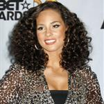 Alicia Keys at the BET Awards 41918