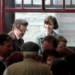 Nicole Kidman and Colin Firth on set of The Railway Man 113054