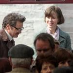 Nicole Kidman and Colin Firth on set of The Railway Man 113055