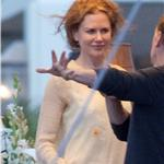 Nicole Kidman in Hawaii with Jennifer Aniston and Adam Sandler shooting Just Go With It 59445