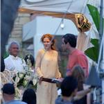 Nicole Kidman in Hawaii with Jennifer Aniston and Adam Sandler shooting Just Go With It 59448