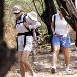 Nicole Kidman takes Sunday Rose hiking on her back in Maui 59541