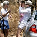 Nicole Kidman takes Sunday Rose hiking on her back in Maui 59544