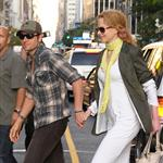 Nicole Kidman and Keith Urban in New York catching a Public Enemies matinee 42859