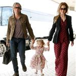 Nicole Kidman and Keith Urban leave Australia with Sunday Rose  75657