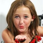 Noah Cyrus and other child stars pose with a pole at gifting suite and Teen Choice pre-party 44273
