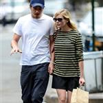 Kirsten Dunst and Garrett Hedlund go grocery shopping in NYC  124820