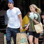Kirsten Dunst and Garrett Hedlund go grocery shopping in NYC  124821
