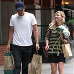 Kirsten Dunst and Garrett Hedlund go grocery shopping in NYC  124822