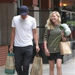 Kirsten Dunst and Garrett Hedlund go grocery shopping in NYC  124823