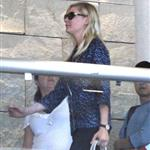 Kirsten Dunst and Garrett Hedlund arrive at LAX 115220