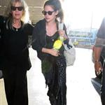 Kristen Stewart arrives at LAX 115230