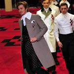 Garrett Hedlund during Prada Fall-winter 2012-2013 Menswear collection show 103786