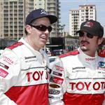 Kim Coates and Adam Carolla at The 36th Annual Toyota Pro/Celebrity Race 110537