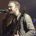 Caleb Followill and Kings of Leon perform on stage at the Air Canada Centre in Toronto 96131