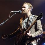 Caleb Followill and Kings of Leon perform on stage at the Air Canada Centre in Toronto 96132