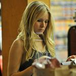 Kristen Bell is seen paying at the check out at Gelson's in Los Feliz, 108196