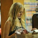 Kristen Bell is seen paying at the check out at Gelson's in Los Feliz, 108200