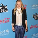 Kristen Bell arrives at UNICEF Playlist With The A-List at El Rey Theatre 109322