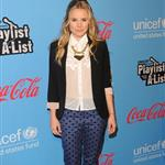 Kristen Bell arrives at UNICEF Playlist With The A-List at El Rey Theatre 109325