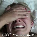Kristen Bell shows her sloth video to Ellen 104569