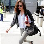 Kristen Stewart arrives in London 91070