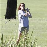 Kristen Stewart plays golf in Malibu  121400