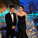 Kristen Stewart and Taylor Lautner present at the 2010 Oscars 56384