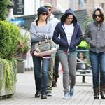 Kristen Stewart in Vancouver with Elizabeth Reaser, Nikki Reed, and Paris Latsis  46179