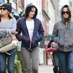 Kristen Stewart in Vancouver with Elizabeth Reaser, Nikki Reed, and Paris Latsis  46185