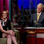 Kristen Stewart at Letterman to promote Eclipse 64222