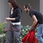 Kristen Stewart and Michael Arangano out in Vancouver, April 2009 121578