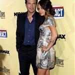 Jason Bateman and Mila Kunis at the Extract premiere in LA 45425