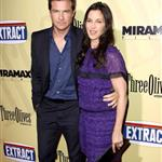 Jason Bateman and Mila Kunis at the Extract premiere in LA 45426