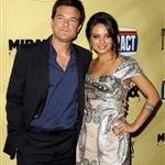 Jason Bateman and Mila Kunis at the Extract premiere in LA 45429