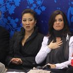 Michelle Kwan and Katarina Witt attend women's skating final in Vancouver 55808