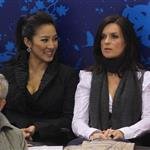 Michelle Kwan and Katarina Witt attend women's skating final in Vancouver 55809