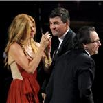Kyle Chandler and Connie Britton at the Emmy Awards 2011  94619