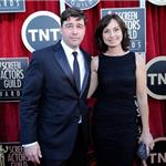 Kyle Chandler at the 2012 SAG Awards with his wife 104160